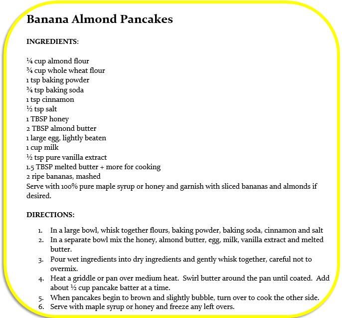 banana almond pancake 3